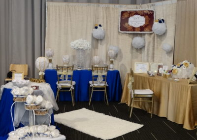 On Cloud 9 Bridal Show Booth