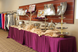 wedding rentals, Prime Time Party Rental, food station, catering, showroom