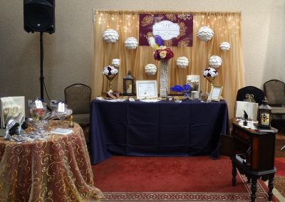 Write Your Own Story Bridal Show Booth