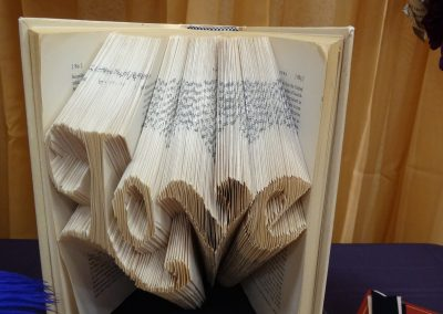 """Love"" Folded Pages Book"