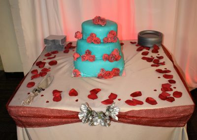 Wedding Cake for Vow Renewal Reception
