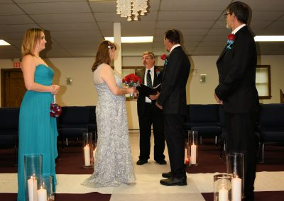 Wedding Ceremony for 25th Anniversary Vow Renewal