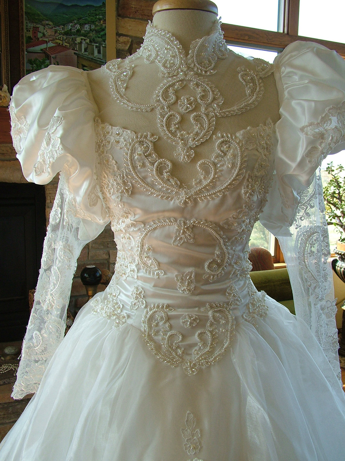 1980s Wedding Dress - TLC Events and Weddings, LLC