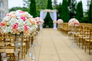 wedding flowers, ceremony, wedding trends