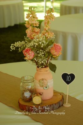 Centerpiece, Rustic, Shabby Chic